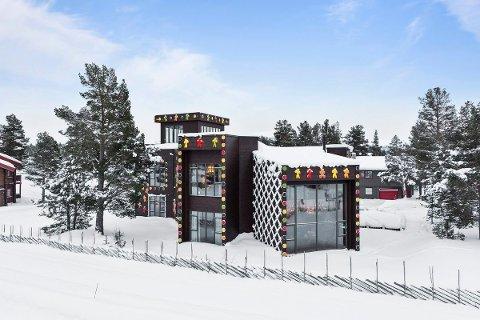 REKORDMANGE VISNINGER: Aktiv i Fjellregionen har aldri hatt så mange visninger på en annonse som for Pepperkakehuset på Savalen som er til salgs for 13. millioner kroner.