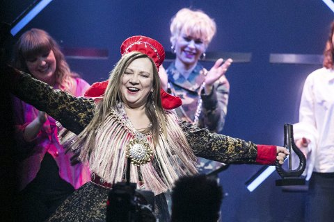TIDLIG START: Mari Boine er neste artist som skal holde konsert på stupetårnet. Foto: Audun Braastad/NTB scanpix