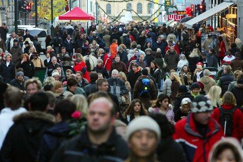 Folketallet i Norge passerte 5,3 millioner i første kvartal, men den viktigste driveren er ikke fødsler, men innvandring. Foto: Håkon Mosvold Larsen / NTB scanpix