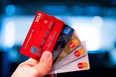 De fleste kredittkort kommer med ulike bonus- og rabattordninger, men det vil Sp ha en slutt på. Foto: Jon Olav Nesvold, NTB scanpix/ANB