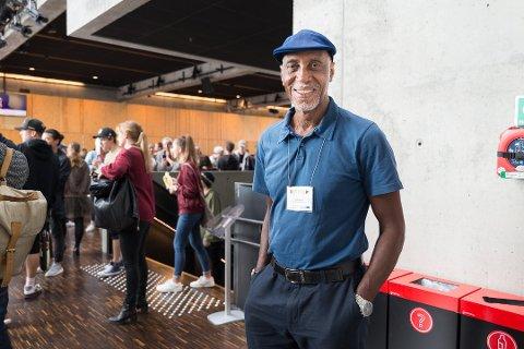 WONDERS MANAGER: Keith Harris er Stevie Wonders manager. Han mener musikken må verdsettes annerledes i framtiden.