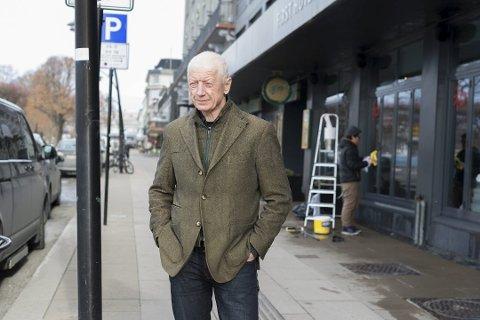 FRAMTIDEN: Ordfører Einar Busterud inviterer lokalbefolkningen til å tenke stort om Hamars framtid. Foto: Jo E. Brenden
