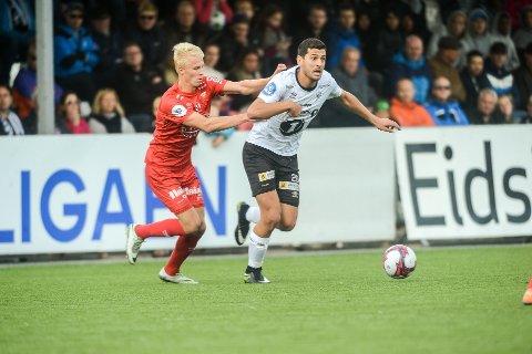 Sabri Khattab og Elverum bør ta poeng i bortekampen mot Fredrikstad søndag kveld for å holde liv i opprykksdrømmen.