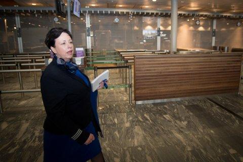 TRAVLE ARBEIDSDAGER: Kristin Kongsfjell må ordne opp i alle tenkelige og utenkelige hendelser i løpet av en arbeidsdag. Foto: Vidar Sandnes