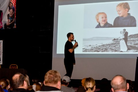 Fredrick Haugen fortalte sin sterke historie om spilleavhengigheten