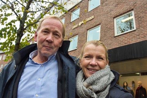 VAR DELTAKER: Søskenparet Birger Lunke og Vivi Lunke Røhne i Garvergården AS var deltaker i konkurransen om nytt politihus.
