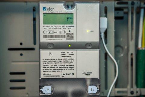 Omtrent 167.000 strømmålere fungerer ikke som de skal, ifølge tall fra Elhub. Foto: Paul Kleiven / NTB scanpix