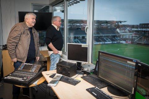 SAMLING: – HamKam har manglet et klubbhus som møteplass i for lang tid nå, mener Tore Johnstad og Per Gustavsen.