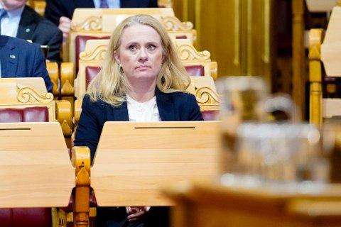 Arbeidsminister Anniken Hauglie sier at målet hennes er å komme til bunns i hva som har skjedd i Nav-skandalen.