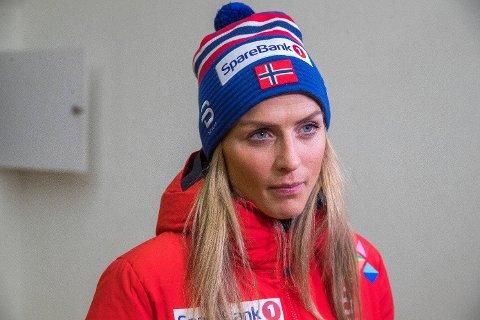 STILLER TIL START: Therese Johaug er klar for Tour de Ski. Foto: Terje Pedersen (NTB scanpix)