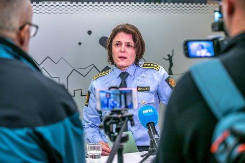 FOKUS: Politistasjonssjef i Tromsø, Anita Hermandsen fra Rena har hatt hele landets fokus rettet mot seg etter denne ukens tragedie i Tromsø.