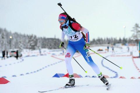 IMPONERER: Til tross for at hun er året yngre enn de fleste av sine konkurrenter, reiser Maren Bakken hjem med to gull og en bronse fra junior-VM i Slovakia.