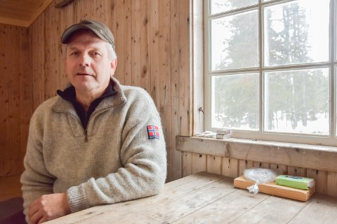 Stein Langdalen, medlem i Nordre Elverum JFGF.