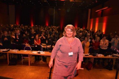 HISTORISK: Anita Ihle Steen ble historisk som den første lederen av Innlandet Ap.