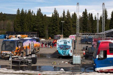 SLUTT: Det årlige Russetreffet på Lillehammer har preget byen i 22 år, men nå kan det være slutt.