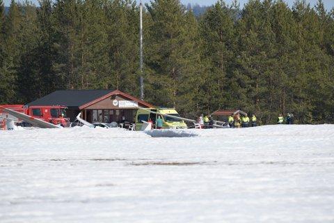 Foranledningen til ulykken var at glasskuppelen som beskytter piloten løsnet i luften.