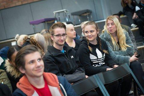 VIL BLI LÆRER: Ole Martin Eig vil bli lærer etter utdannelsen ved Storhamar videregående skole. Foto: Jo E. Brenden