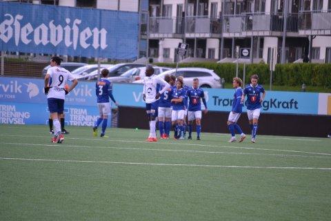 TAP: Nybergsund tapte kampen i Trondheim.