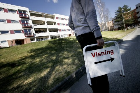 Regjeringen vil gjøre boligsalg enklere for forbrukerne. Foto: Jarl Fr. Erichsen / NTB scanpix