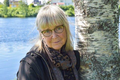 NOVELLER: Britt Karin Larsen har i år gitt ut sin første novellesamling.