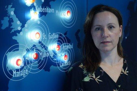 Line Sørbø er sykepleier, og jobber som medisinsk rådgiver på skadesenteret til Europeiske Reiseforsikring. (Foto: If)