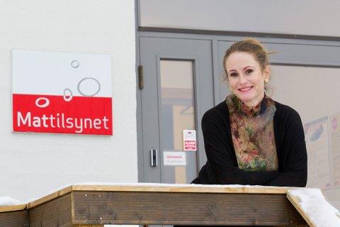 Ingrid Elisabeth Bjerke-Matsson ved Mattilsynets avdeling i Kongsvinger. Foto: Ole-Johnny Myhrvold