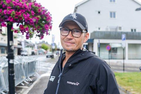 SJEFEN: Sjef for Elverumsdagene, Tore Hagen er fornøyd med årets arrangement selv om regnet la en demper på festen.