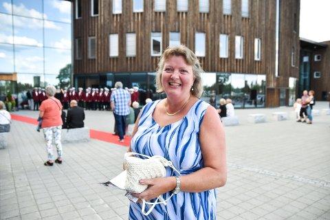 KONSERT: Kjersti Øversveen på Festspillene i Elverums åpningskonsert med Ungdomssymfonikerne og Torleif Thedéen fredag kveld.