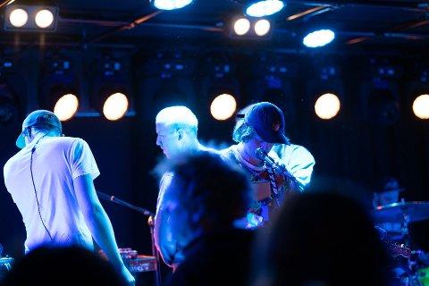TEAM ME: Fredag kveld hadde Team Me sin første konsert i Elverum på fire år.