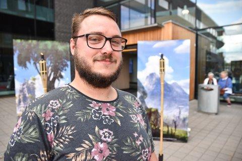 GAMER: På spillkonserten, Score! fikk Jan Arild Korsmo høre sanger fra spillene han kjenner fra Playstation.