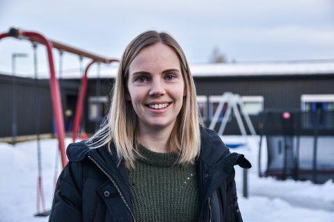 NY PÅ JOBBEN: Lena Hammersland har begynt å jobbe på Vestad skole.