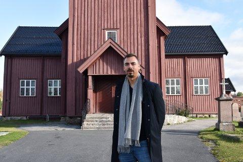 SOKNEPREST: Geir Wiknes er sokneprest i Elverum.