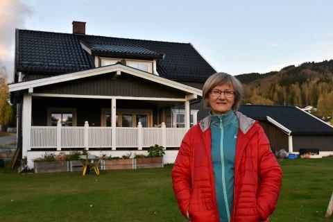 NYTT HUS: Lisbeth Lyngaas flyttet fra leilighet til enebolig for kun en uke siden.
