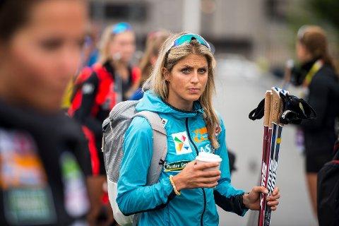 GLAD FOR UTSETTELSE: Therese Johaug er blant mange norske utøvere som synes det var fornuftig å utsette forbudet mot fluorsmurning. Foto: Carina Johansen (NTB)