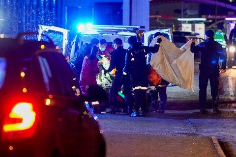 DØDE: Den antatte gjerningspersonen etter knivhendelsen i Elverum er død.