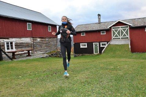LØPER FORT: Ingeborg Østgård har vunnet det meste hun har stilt opp i denne sesongen. Nå er Dalsbygda-jenta innkalt til sin første juniorlandslagssamling.