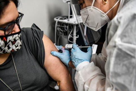 Heather Lieberman er en av rundt 30.000 personer som har deltatt i Modernas fase 3-studie for korona-vaksine basert på helt ny teknologi.