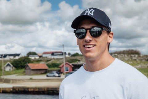 TRENING: Henrik Fosse fra Elverum valgte å flytte tilbake til Elverum da treningssenterne stengte i Oslo.