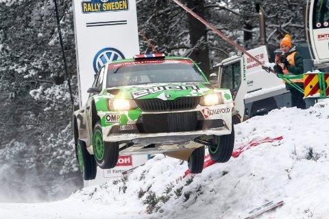 STRYKES: Colin's Crest er et mye omtalt hopp på Vargåsen-etappen. I år blir det ingen luftige svev her i Rally Sweden da etappen er strøket.