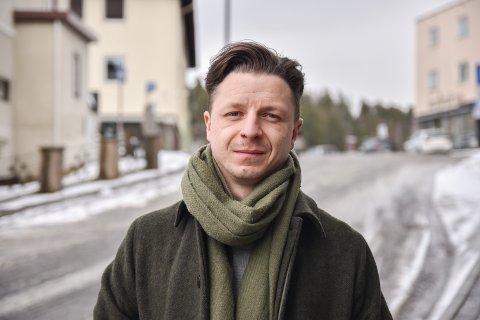 NY PÅ JOBBEN: Ståle Johan Berg startet i fast jobb som frontsjef i Østlendingen 1. januar.