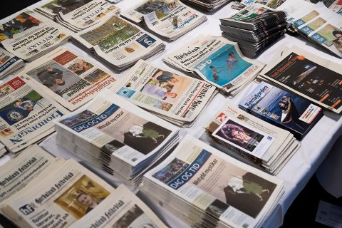 Koronakrisen har skapt krisestemning i mediebransjen. (Foto: Berit Roald / NTB scanpix)