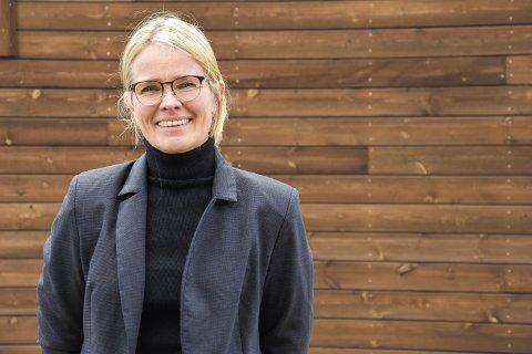 FORNØYD: Prorektor Stine Grønvold er fornøyd med at søkningen til Høgskolen i Innlandet fortsetter å øke.