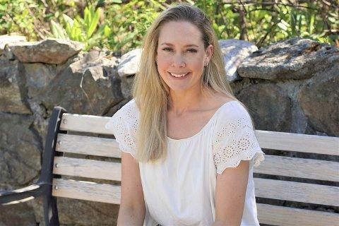 HADDE KREFT: Ina Cecilie Norderhaug (28) fikk hudkreft som 27-åring. I dag er hun kreftfri, men må  bruke solfaktor 30-50 og være svært forsiktig i solen. Foto: Katrine Alexandra Leirmo Heiberg