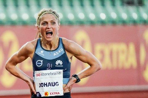 Therese Johaug får ikke løpe på Diamond League-stevnet i Stockholm i august. Foto: Lise Åserud / NTB scanpix.