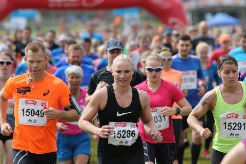 AVLYST: Det blir ingen løpsfest under Birkebeinerløpet i år. Koronasituasjonen gjør at arrangøren nå avlyser det. (Foto: Geir Olsen/BirkenAS)