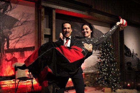 OPERA OG MAT: Barytonen Lars Eggen og Eva Holm Foosnæs (piano) er for de fleste godt kjent fra Opera di Setra.