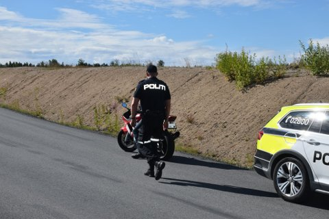 MAKS FORELEGG: Motorsyklisten fikk maks av det han kunne få som forelegg etter å ha blitt målt til 73 kilometer i timen i 50-sonen.