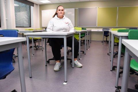I TENKEBOKSEN: Maja Cvetkovic fra Rena vurderer å trekke seg fra politikken på grunn av hets.