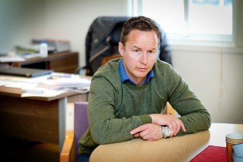 TAR OVER: Espen Nystuen.