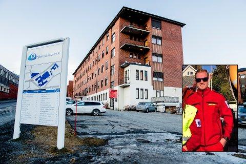 SØKER: Eirik Dahlen er en av søkerne til stillingen som AMK-operatør på Gjøvik. Til daglig jobber Dahlen som amulansearbeider i Elverum. (Foto: Stian Lysberg Solum / NTB - Privat)